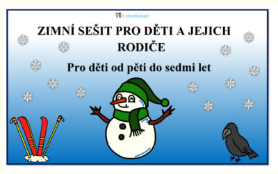 E-book ZDARMA – Zimní sešit pro děti a jejich rodiče